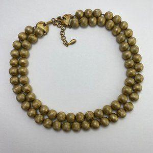 Vintage Monet gold- tone necklace
